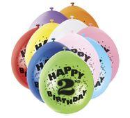 Balónky 2. narozeniny