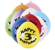 Balónky 3. narodeniny