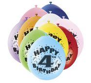 Balónky 4. narozeniny