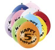 Balónky 5. narozeniny