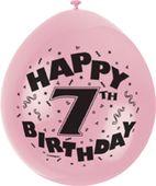 Balónky 7. narozeniny