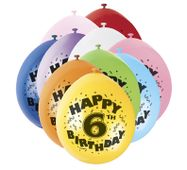 Balónky 6. narozeniny