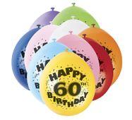 """Balónky """"60"""" Brilliant birthday"""