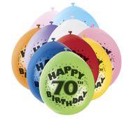 Balónky 70. narozeniny