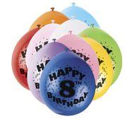 Balónky 8. narozeniny