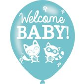 "Balónky Woodland ""Welcome baby"""