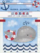 Banner 1. narozeniny Malý námořník