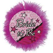 Bride to be odznak deluxe