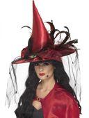 Čarodejnícky klobúk bordový