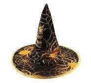 Čarodějnický klobouk - zlatý