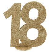 """Číselná dekorace """"18"""""""