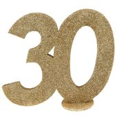 """Číselná dekorace """"30"""""""