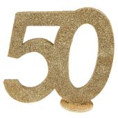 """Číselná dekorace """"50"""""""