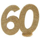 """Číselná dekorace """"60"""""""