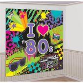 Dekorace na zeď I love 80s