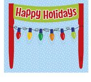 Dekorace na dort Happy Holidays