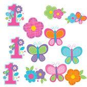 Dekorace 1.narozeniny B-day Girl
