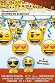 Dekorační sada Cool Emoji