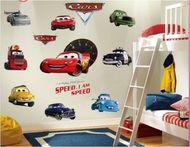 Dekorační sada izby Cars