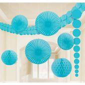 Dekorační sada místnosti baby blue