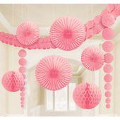 Dekorační sada místnosti baby pink