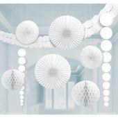 Dekorační sada místnosti bílá