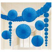 Dekorační sada místnosti modrá