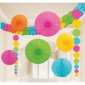 Dekorační sada místnosti multicolor