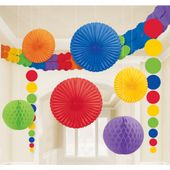 Dekorační sada místnosti rainbow multi
