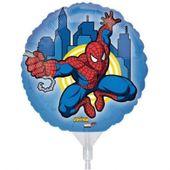 Mini fóliový balónek Spiderman action