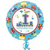 Fóliový balónek 1.narozeniny B-day Boy