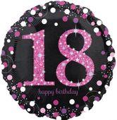 Fóliový balónek 18 Pink Diamonds