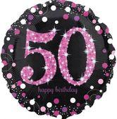Fóliový balónek 50 Pink Diamonds