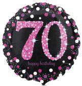 Fóliový balónek 70 Pink Diamonds