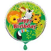 Fóliový balónek Animal Jungle
