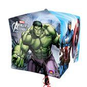 Fóliový balónek kostka Avengers