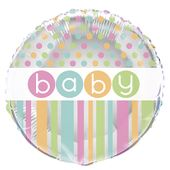 Fóliový balónek Baby dots