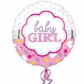 Fóliový balónek Baby Girl