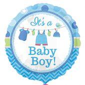 Fóliový balónek Baby It's a Boy