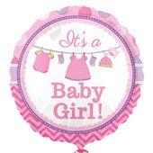 Fóliový balónek Baby It's a Girl