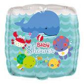 Fóliový balónek Baby shower Pod morom