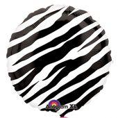 Fóliový balónek Black Zebra