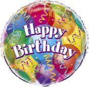 Fóliový balónek Brilliant Birthday