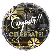 Fóliový balónek Congrats