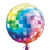 Fóliový balónek supershape Disko koule