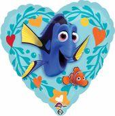 Fóliový balónek Dory srdce