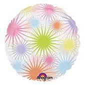 Fóliový balónek Fireworks splash