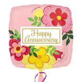 Fóliový balónek Happy Anniversary