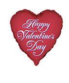 Fóliový balónek Happy Valentine's Day