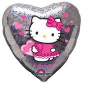 Fóliový balónek Hello Kitty Love